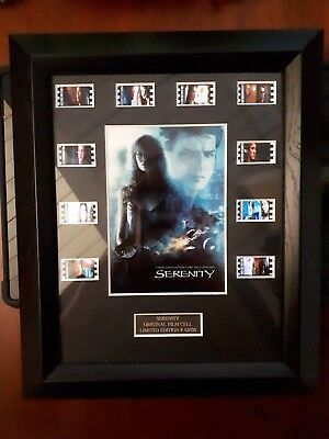 Serenity - Firefly Original film cells Limited Edition #42/100