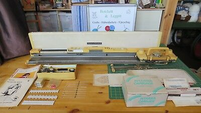 Empisal Knitmaster 326 with accessories in good working order