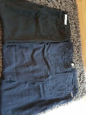 3 X New Look Maternity Size 14 Linen Maternity Trousers