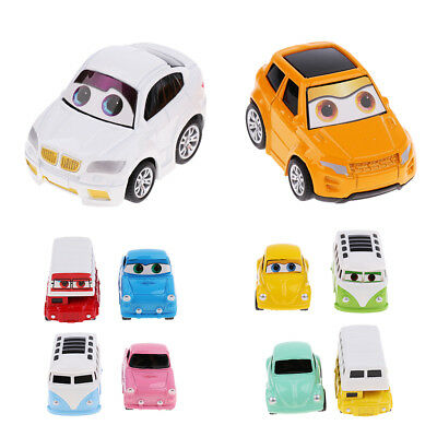2Pcs Pull Back and Go Car Toy Play Set Mini Car Vehicles Toy For Kids Toddlers