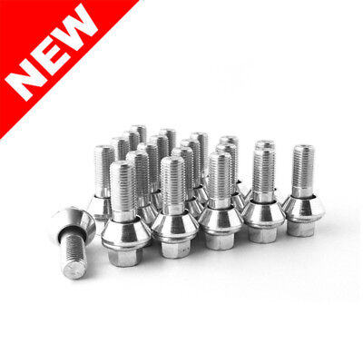 TunerLugs 20-Piece 14x1.5mm PCD Variation Wobble Bolts - 28mm