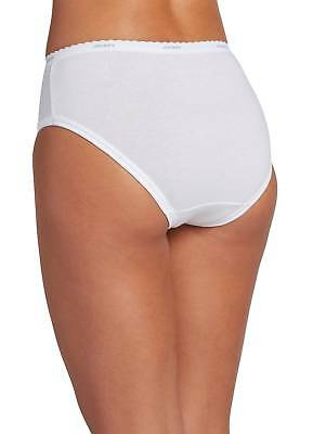 Jockey Womens Classic Hipster 3 Pack Underwear Hipsters 100% cotton