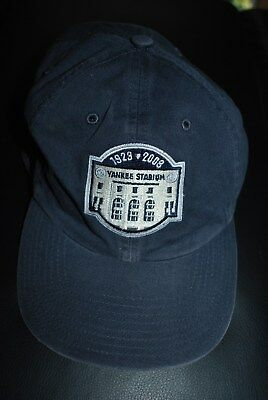 bf512cce2 mlb hat adjustable new york yankees yankee stadium 1923 2008 cap h51; new  york yankees 1923 2008 yankee stadium last season hat give away
