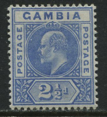 Gambia KEVII 1902 2 1/2d ultra mint o.g.