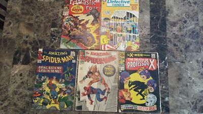 Silver Age Reader lot (5 issues inc ASM 27, 34)