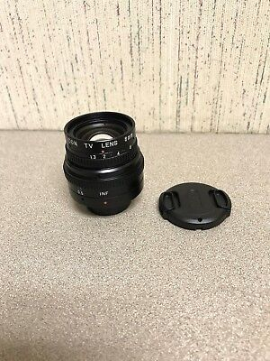 OPTICAL TV LENS VICON 8MM 1:1.3 with Pro Master Cover