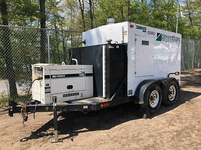 2011 Dryair 600GTS Ground Heater W/ 7KW Generator Thaw Ground, Cure Concrete,