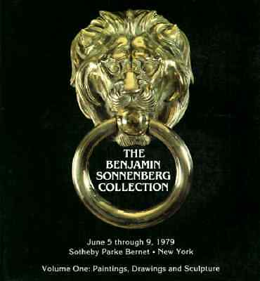 Sotheby's The Benjamin Sonnenberg Collection Vol I & Ii