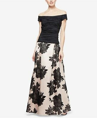 Alex Evenings Long Ball Gown Skirt sz L NWT
