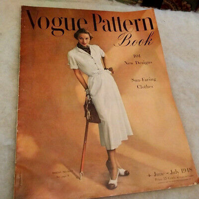 1948 Vogue Pattern Book/June-July/Sun-Faring Clothes