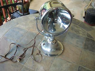 Rare Antique Ships Search Light, Half-Mile-Ray