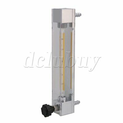 Acrylic Model LZB-4 1.6-16L/h Water Flow Rate Monitor Flow Meter