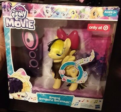 108a5cca257 My Little Pony The Movie Singing Songbird Serenade Target exclusive New in  Box