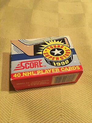 SCORE 1990 Young Superstars Hockey NHL Set - New In Box