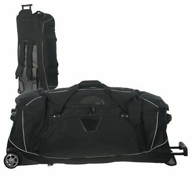 dermata Travelling Bag with Backpack Function Trolley Suitcase Travel Wheels