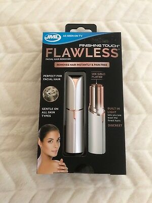 Finishing Touch FLAWLESS 18K Gold Plated Facial Hair Remover - New
