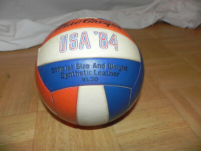 Mac Gregor USA 84 Volleyball rot blau VL 30 Synthetic Leather official size weig