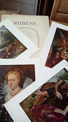 4 reproductions RUBENS, points Soubry farde nr 1