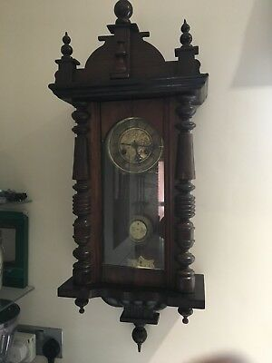 vienna regulator clock good working condition Junghans HAC