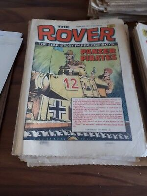 Job Lot Off Victor Comics And Rover From 70 80's 200+ good condition  used
