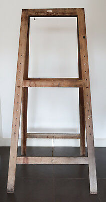 Artists Easel Wood Solid A-Frame Style