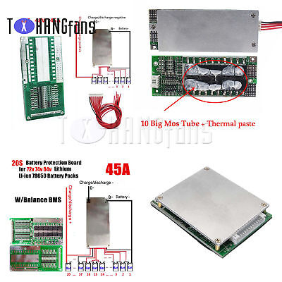 BMS Protection PCB Board 18650 Li-ion Battery 3S12V 100A with Balance ATF