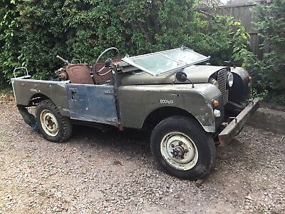 Land Rover Series 1, 1958 , Ex Military , 88 inch , 4 x 2