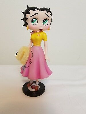 "Sock Hop Betty Boop Fashion Through the Ages Danbury Mint Figurine 6 1/4"" tall"
