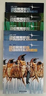 Terres Lointaines ** Serie Complete Tomes 1 A 5 ** Reed (Sauf T 5 Eo) Leo/icar