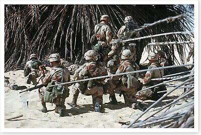 82nd Airborne Division Troops Training Exercise During Desert Shield 8x12 Photo