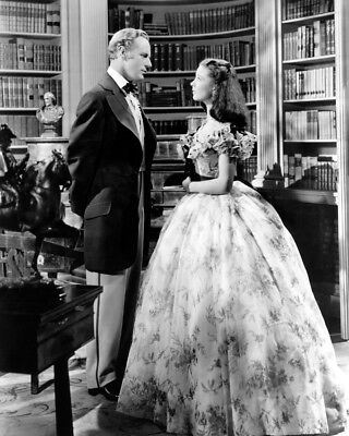 Leslie Howard Vivien Leigh Gone With The Wind 8X10 Photo In Library Study