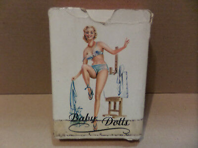 PIN-UP PLAYING CARDS. Baby Dolls, Made in Austria