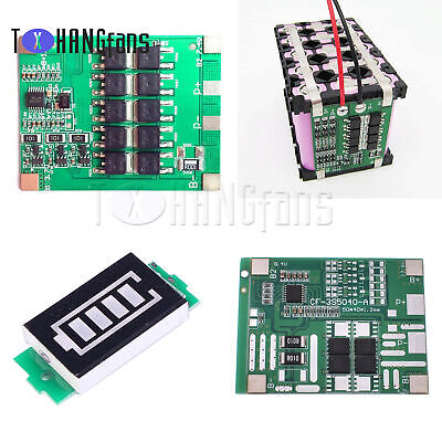12/25/30A 3S 12V PCB BMS Protection Board For 18650 Lithium Battery ATF