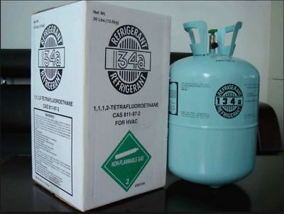 (40) Cylinders 134A 30lb Automotive Refrigerant, MADE IN USA. Free Shipping