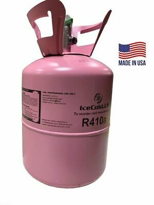 (2) R410a, R410a Refrigerant 11lb tank. New Factory Sealed Lowest Price