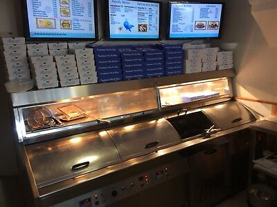fish and chip Take Away Business Shop For Sale