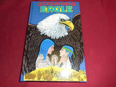 SCREAMING EAGLE Scott Deschaine Hardcover Grahpic Novel  - Discovery Comics New
