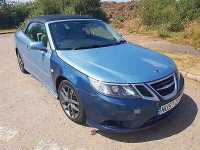 damaged repaired SAAB 93 CONVERTIBLE DIESEL AUTO