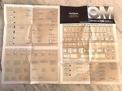 Olympus Om System Chart + Poster Of Om System + Complete Listing All Things Om