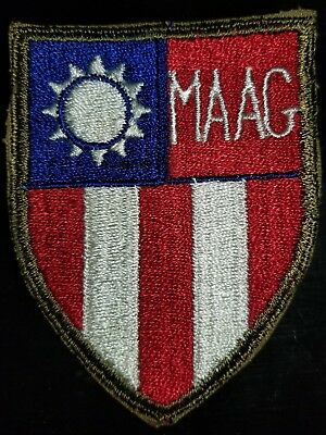 WWII US Army CBI MAAG China Formosa Taiwan Command Patch Priced to Sell