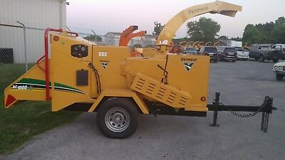 2010 Vermeer Bc1000Xl Diesel Wood Chipper Drum Chipper 349 Low Hours 1 Owner
