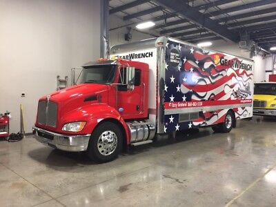2012 KW T370 Mobile Store/Tool Truck/Display Vehicle