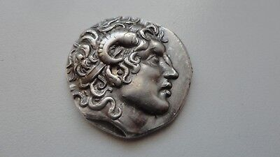 Repro Ancient Greek Coin TETRADRACHM LYSIMACHOS Silver 999 Free Shipping