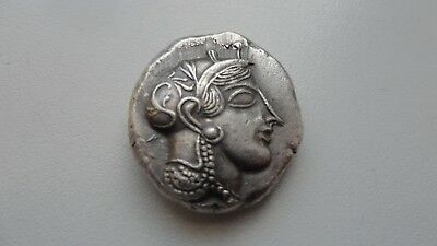 Repro Ancient Greek Coin TETRADRACHM ATHENS With Owl Silver 999 Free Shipping
