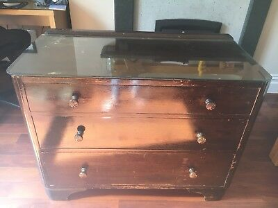 Antique chest of drawers. Lovely as it is, or upcycling renovation project?