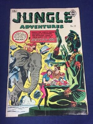 Jungle Adventures 12 Super Comics 1964