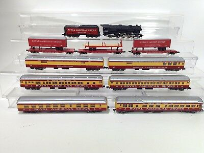 Con-Cor N Scale Royal American Shows Circus Set # 0001-008513 #TOT195