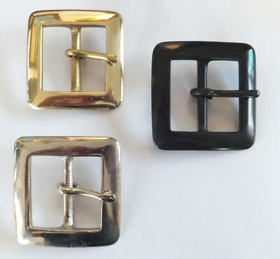 "BS72 - [ 1-1/2"" 38 mm ] SOLID BRASS, ANTIQUE or NICKEL BELT BUCKLE LEATHER CRAFT"