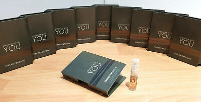 10x Emporio Armani STRONGER WITH YOU eau de toilette Parfum Man Proben Probe