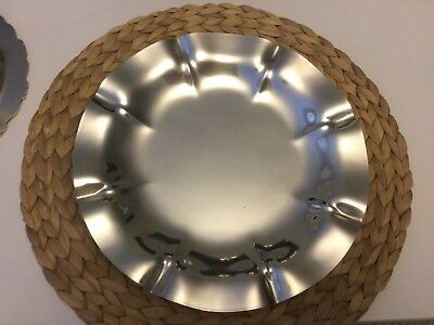 """Reed And Barton Salem Sterling 10.5"""" Serving Plate"""